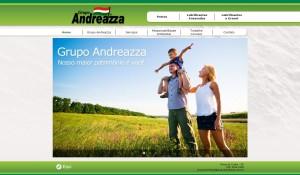 Site do Grupo Andreazza