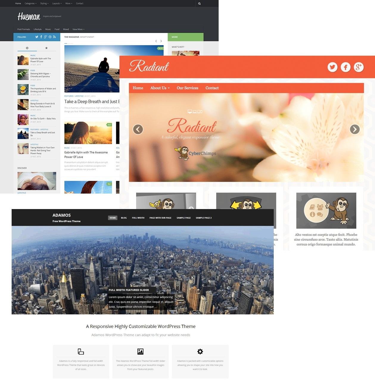 Tema Responsivo para Wordpress